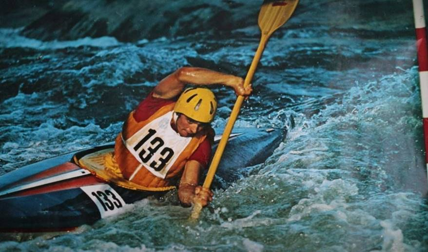 Norbert SATTLER équipe d'Autriche Jeux Olympique de  MUNICH 1972